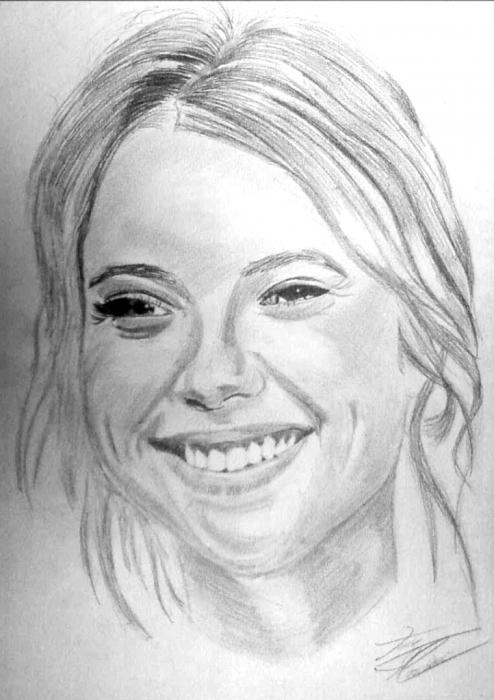 Ashley Benson por TerryArtPortrait